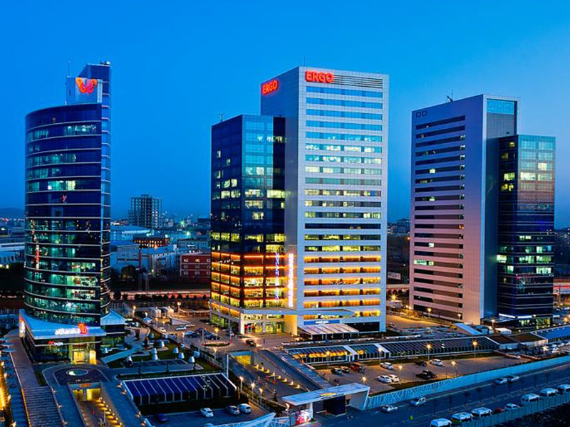 TMS MÜHENDİSLİK AKKOM BUSINESS CENTER BUILDINGS (AKKOM 1-2-3-4-5)